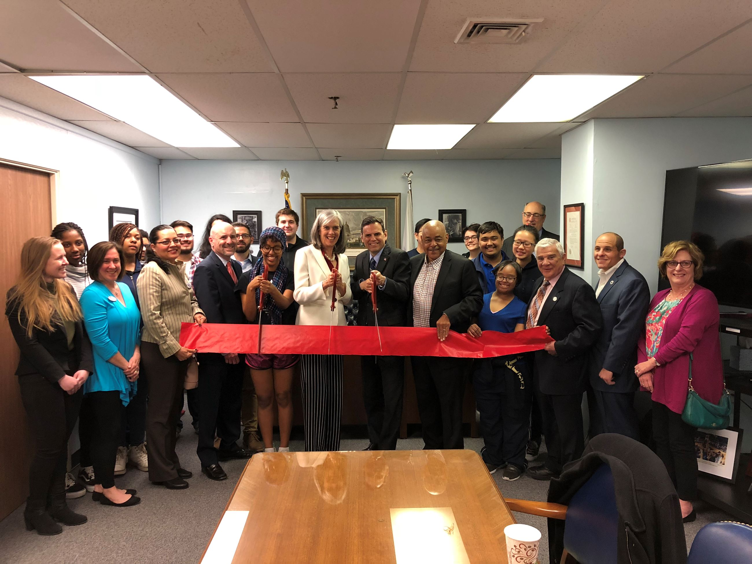 Grand Opening of Congresswoman Katherine Clark's District Office