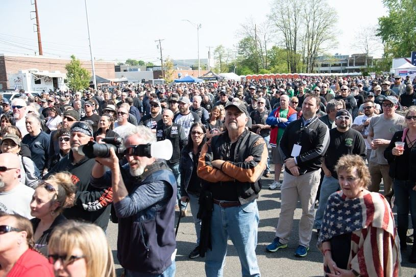 Annual Wounded Vet Run drew large crowds