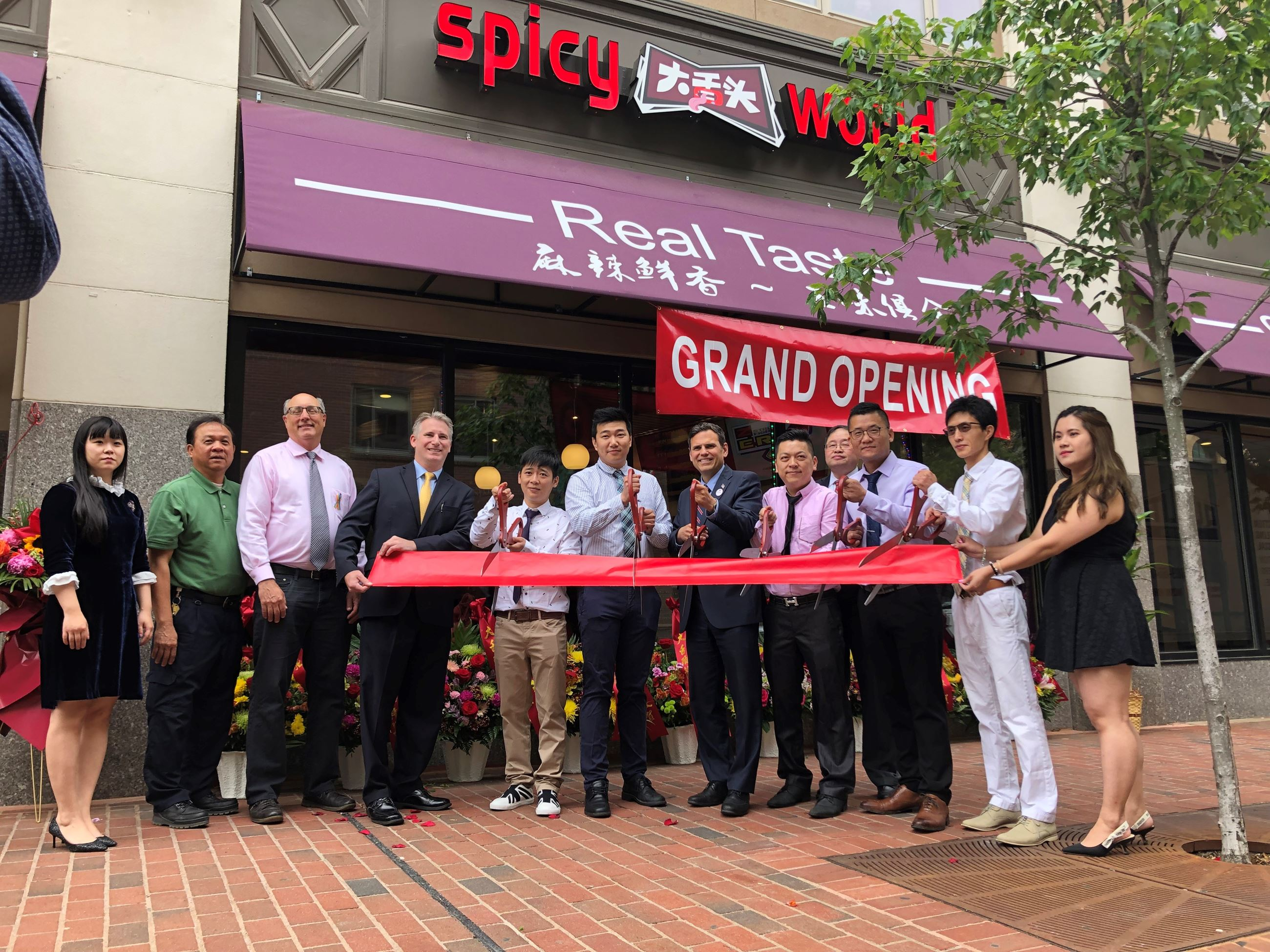 Spicy World Ribbon Cutting