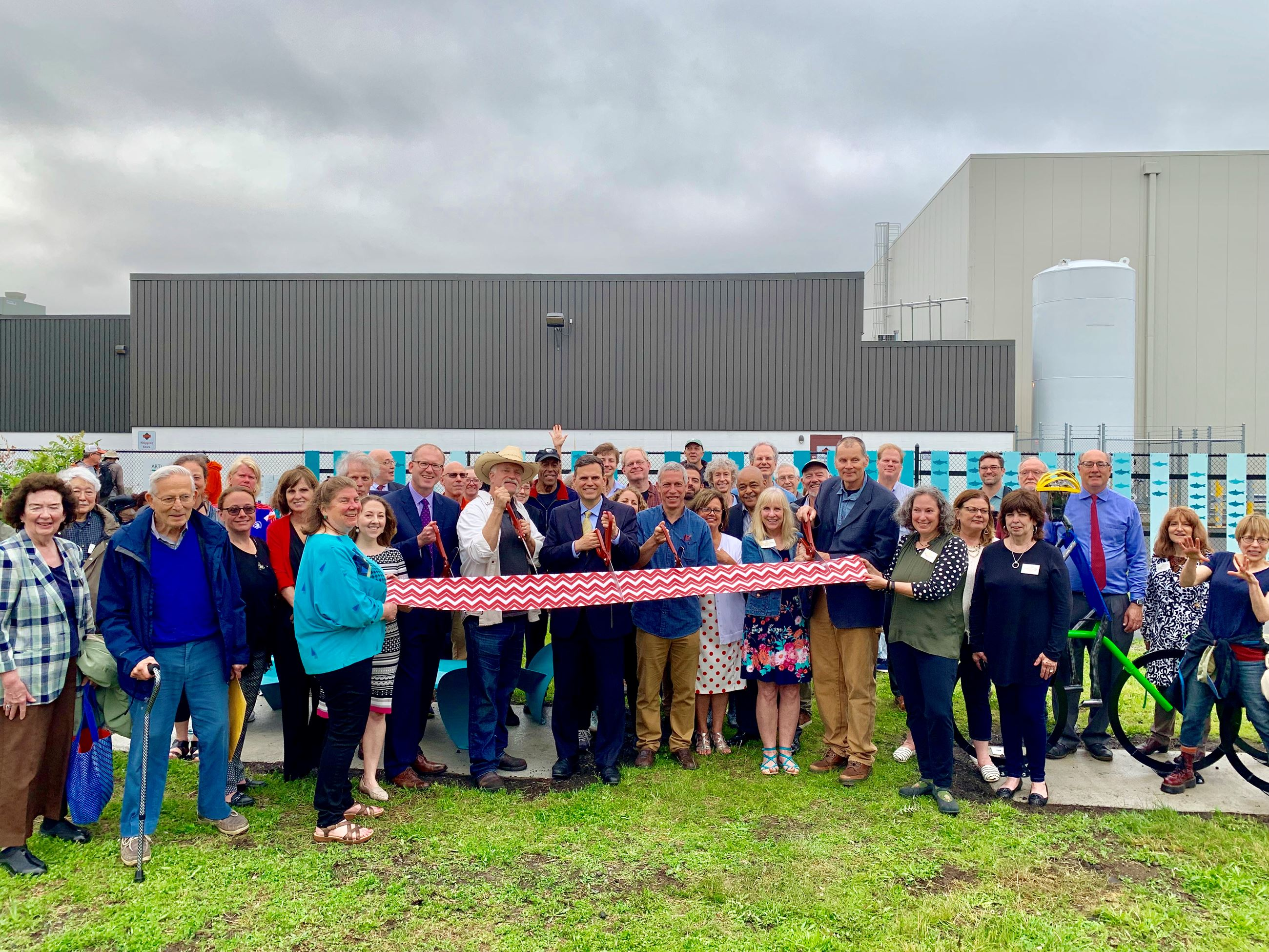 ARTLine Ribbon Cutting