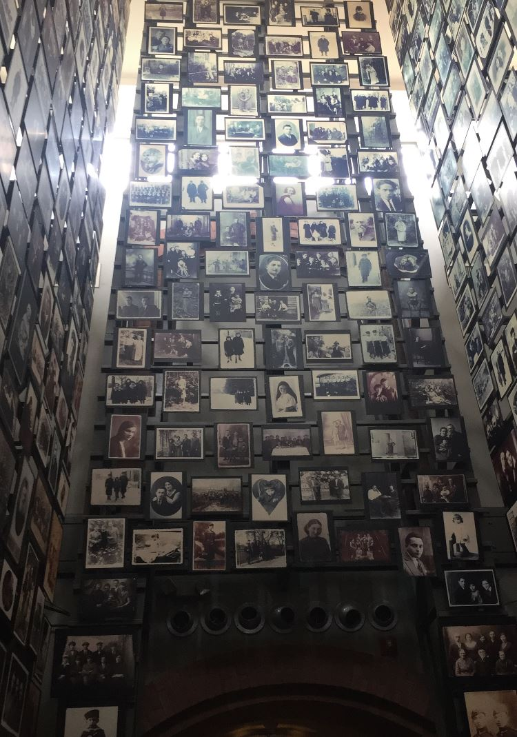Holocaust Monument Photo Gallery wall