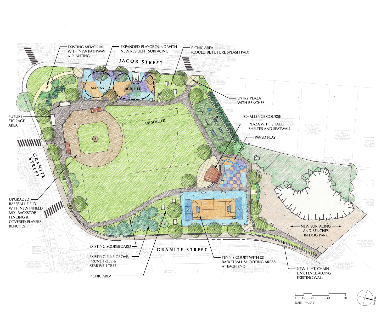 Trafton Park Improvements Rendering
