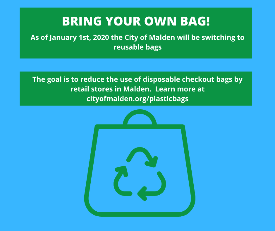 Bring your Own Bag - Plastic Bag Ordinance