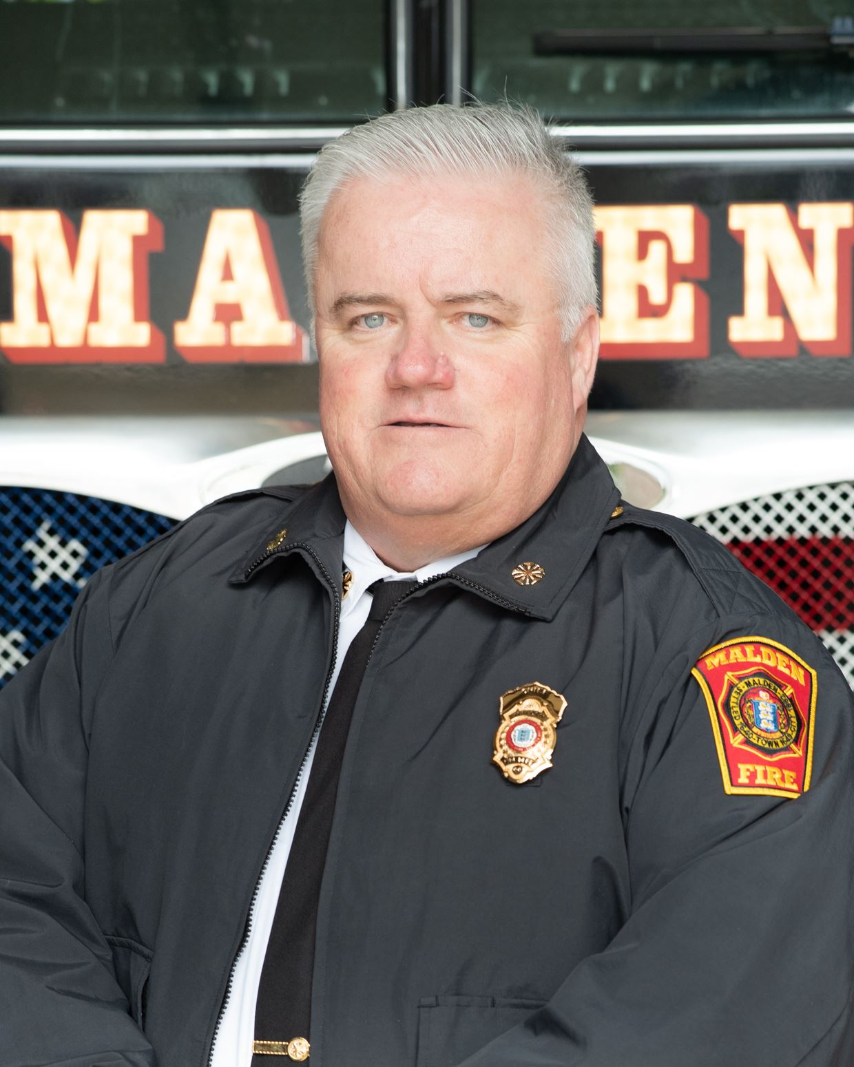 Malden Fire Chief Bill Sullivan