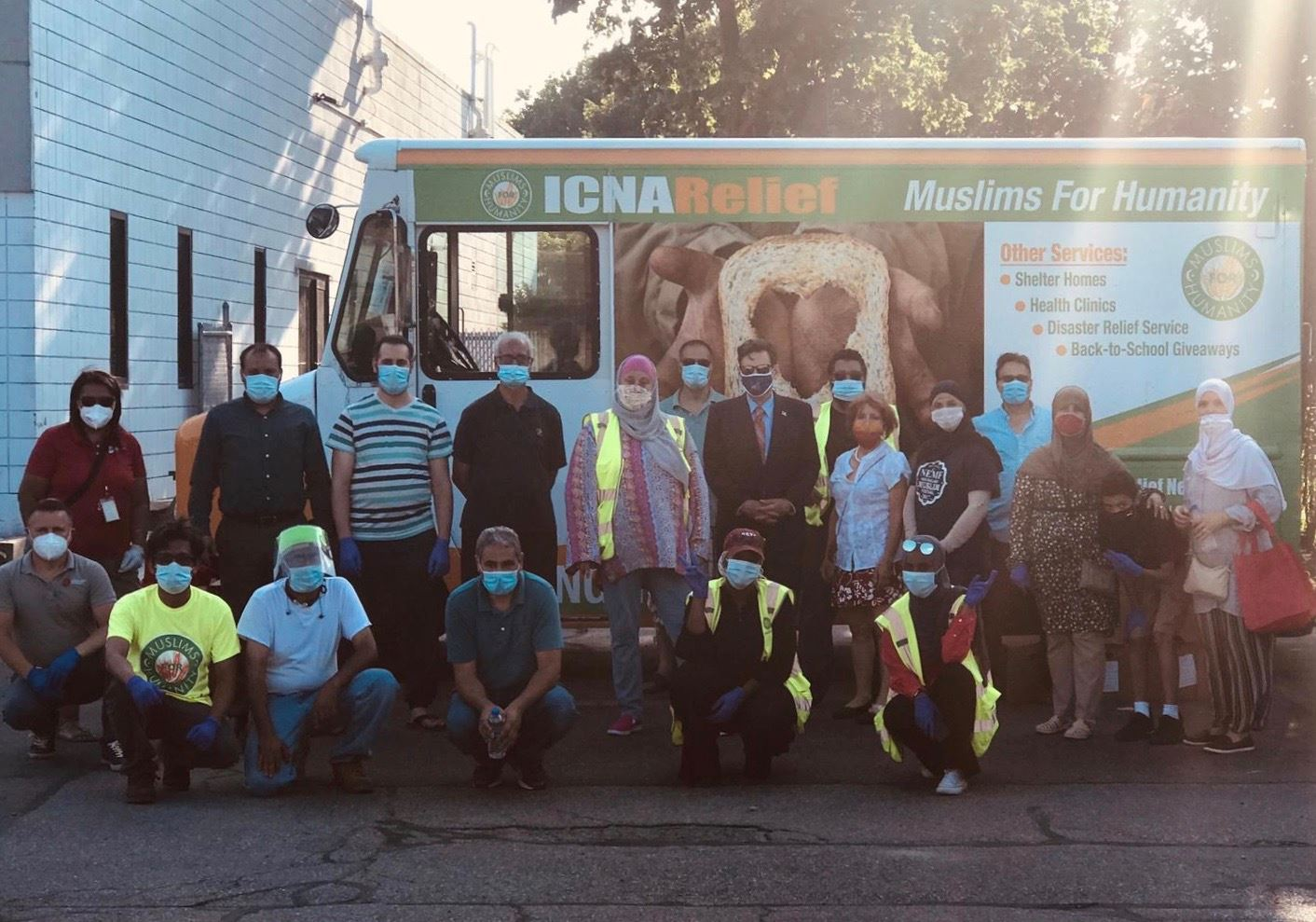 Muslims for Humanity Food Distribution