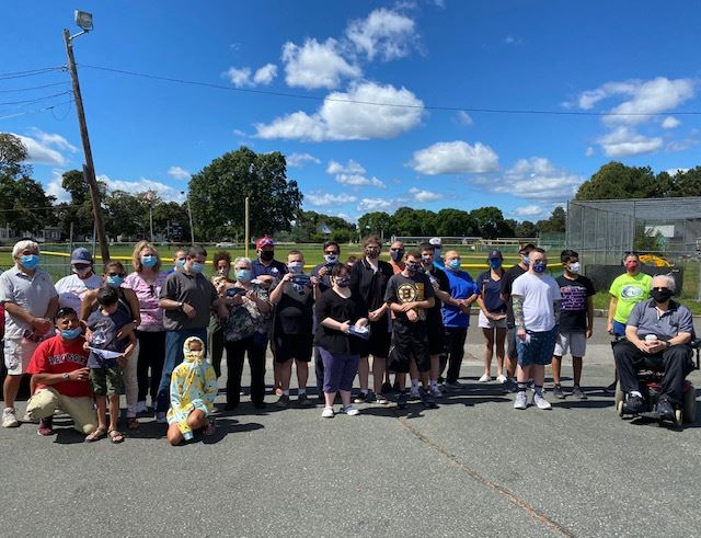 Challenger League Meets up to get their new masks