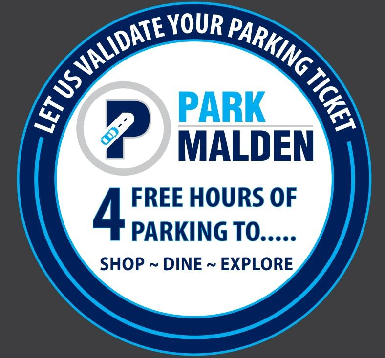 Park Malden Validation Sticker