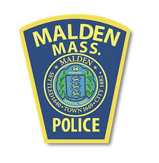 Malden Mass. Police Patch