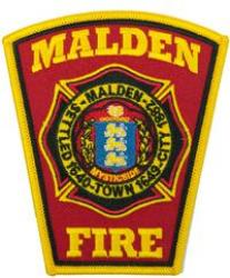 City of Malden Fire Patch